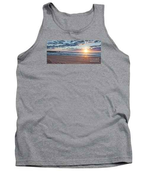 Sunrise At The Outer Banks Tank Top by Laurinda Bowling