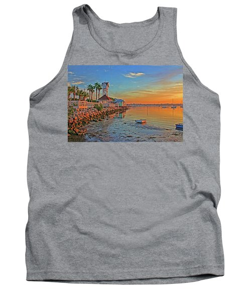 Sunrise At The Pier Tank Top
