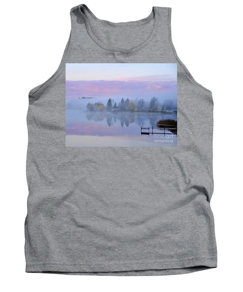 Sunrise Comes To Stoneledge Lake Tank Top