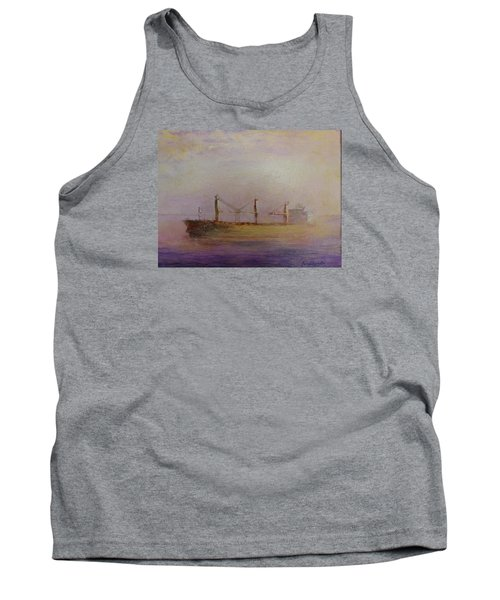 Sunrise Gold Tank Top