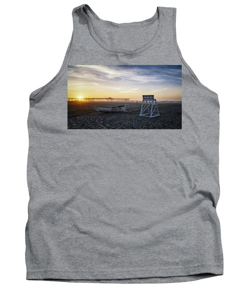 Tank Top featuring the photograph Sunrise In Avalon by Eduard Moldoveanu