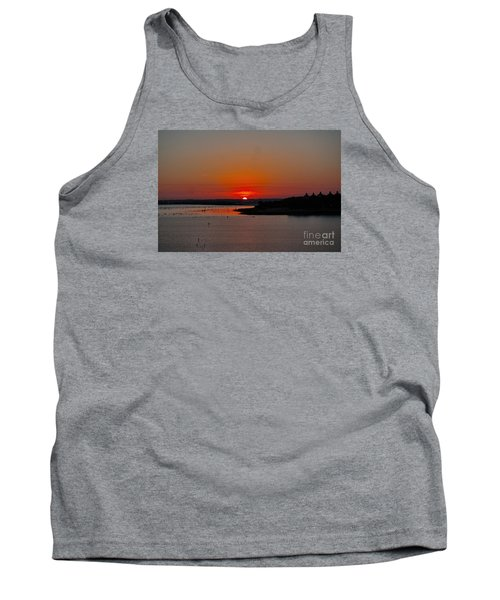 Sunrise On Lake Ray Hubbard Tank Top