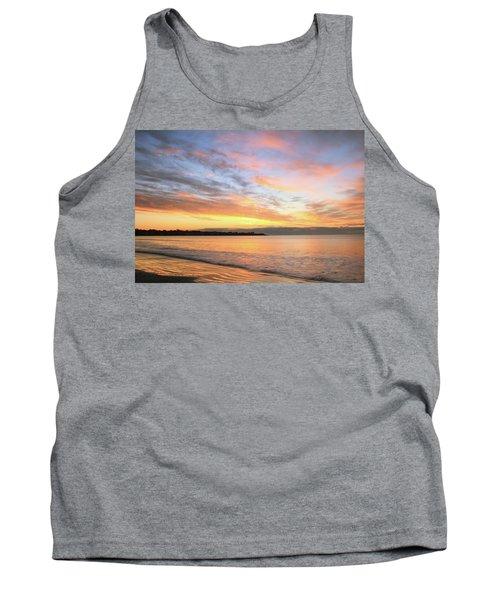 Tank Top featuring the photograph Sunrise On Middletown Rhode Island by Roupen  Baker