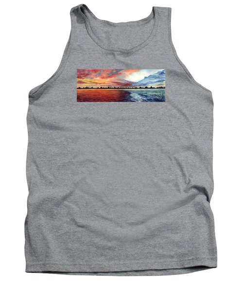 Sunrise Over Indian Lake Tank Top