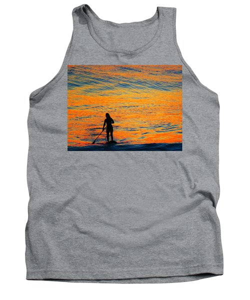 Sunrise Silhouette Tank Top
