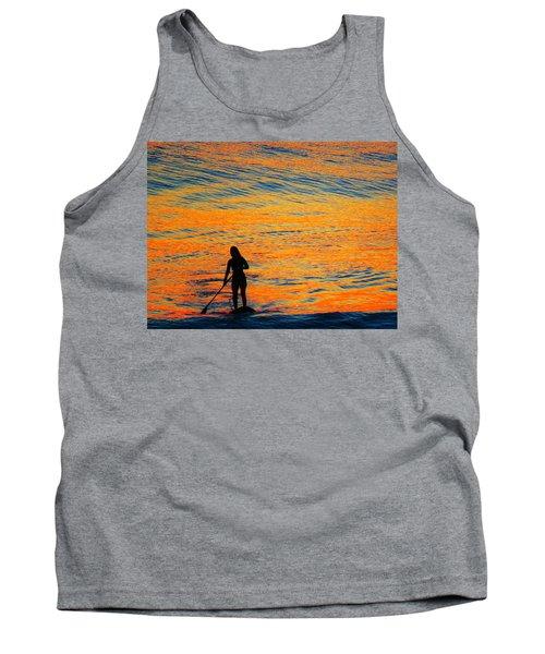 Sunrise Silhouette Tank Top