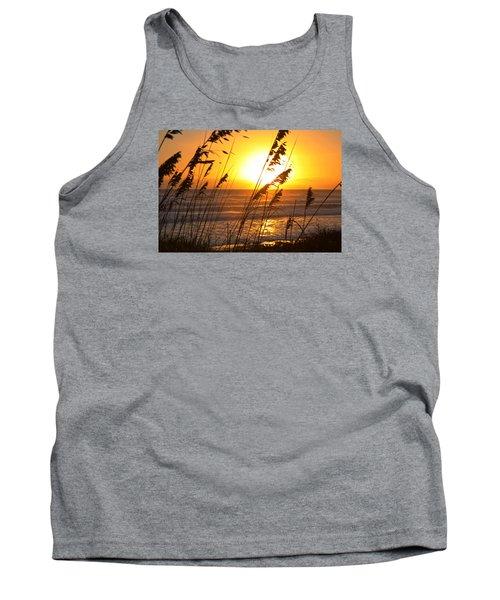 Sunrise Silhouette Tank Top by Robert Och