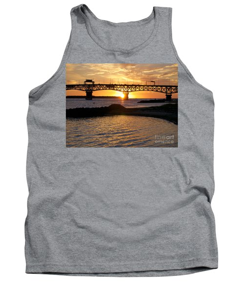 Sunrise Under Coleman Bridge Tank Top