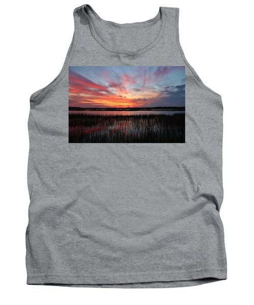 Sunset And Reflections 2 Tank Top
