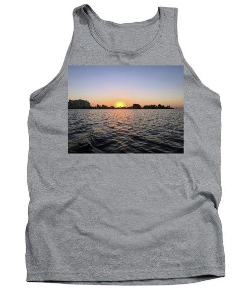 Sunset At Hudson Beach Florida Tank Top