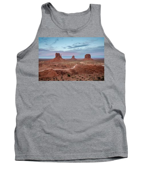 Sunset At Monument Valley No.1 Tank Top