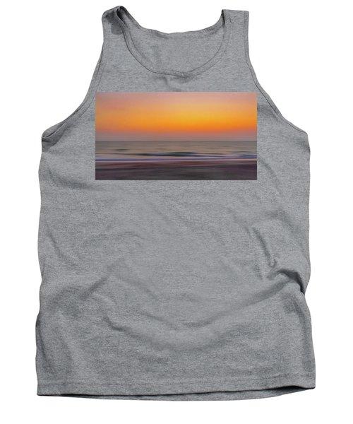 Sunset At The Beach Tank Top