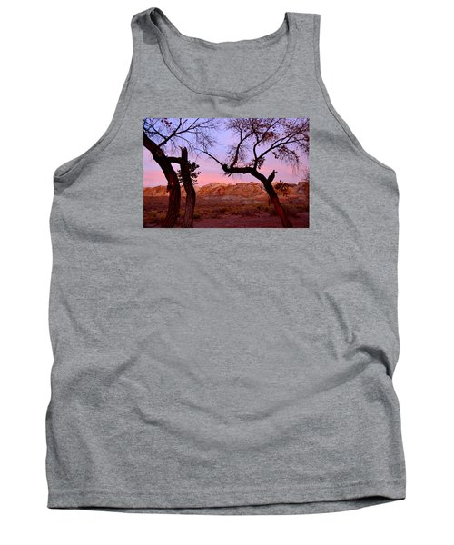 Sunset At The Swell Tank Top