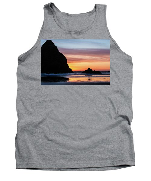 Sunset At Whalehead Beach Tank Top