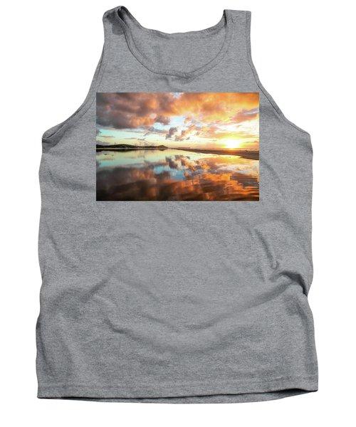 Sunset Beach Reflections Tank Top