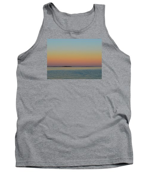 Tank Top featuring the photograph Sunset Blend At The Outer Harbor 2  by Lyle Crump