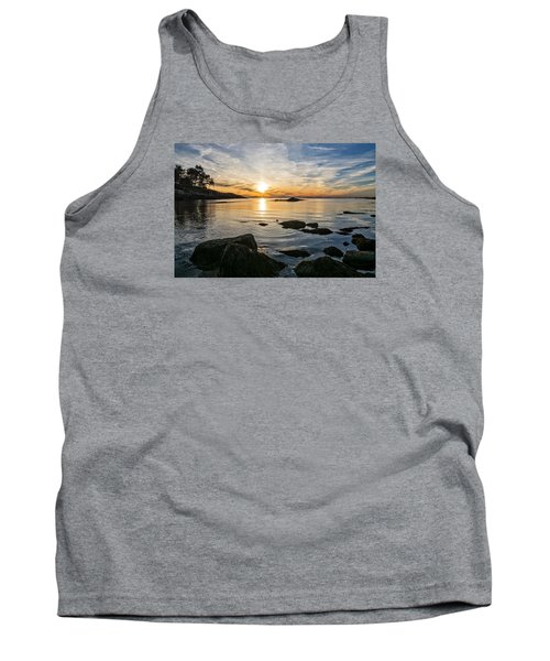 Sunset Cove Gloucester Tank Top by Michael Hubley