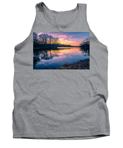 Sunset-dorothy Pond Tank Top