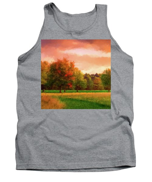 Sunset Field Tank Top