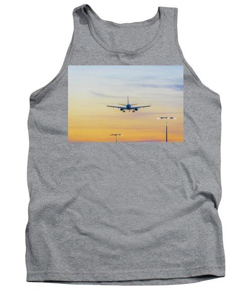 Sunset Flight Tank Top by Ross G Strachan