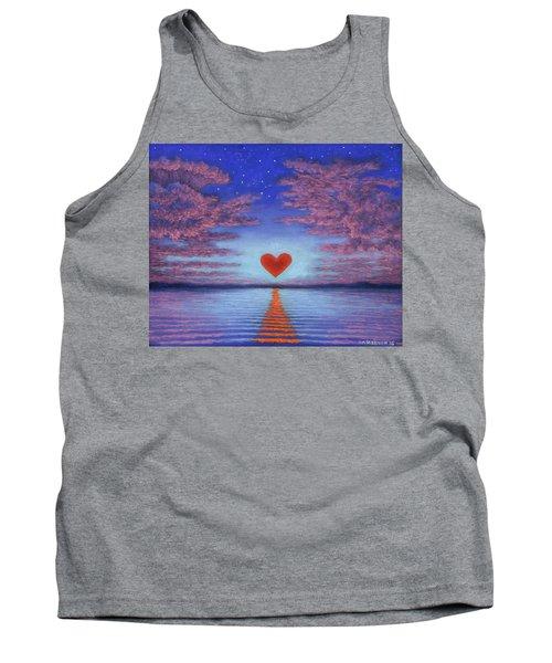 Sunset Heart 02 Tank Top