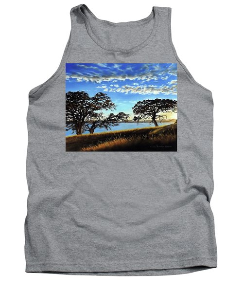 Sunset In Lucerne Tank Top