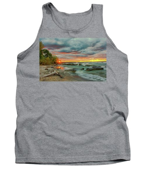 Sunset In Rocky River, Ohio Tank Top