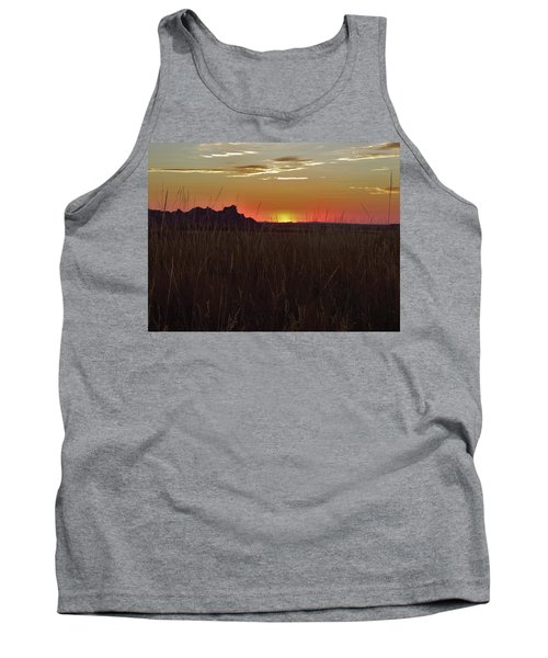 Sunset In The Badlands Tank Top