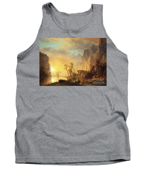 Sunset In The Rockies Tank Top
