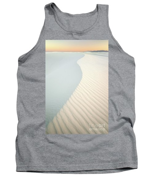 Sunset In White Sands Tank Top