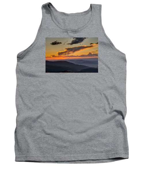 Tank Top featuring the photograph Sunset Layers by David R Robinson