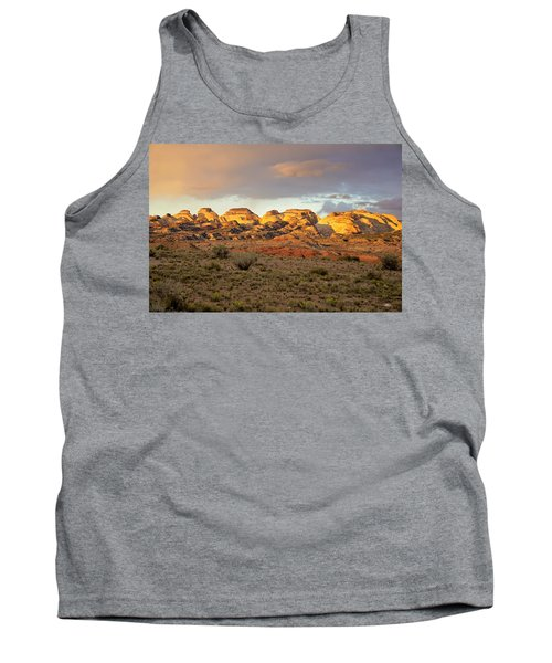 Sunset On Capitol Reef Tank Top