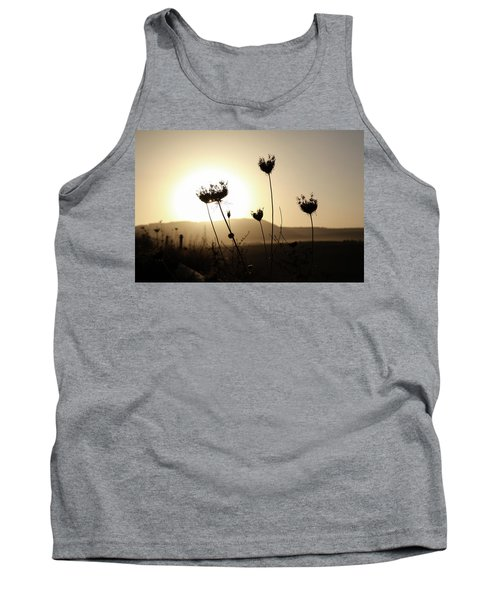 Tank Top featuring the photograph Sunset On Galilee Road by Yoel Koskas