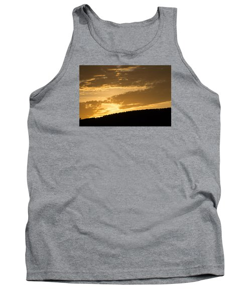 Sunset On Hunton Lane #4 Tank Top by Carlee Ojeda