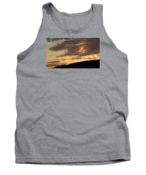 Sunset On Hunton Lane #5 The Heart Knows Tank Top by Carlee Ojeda
