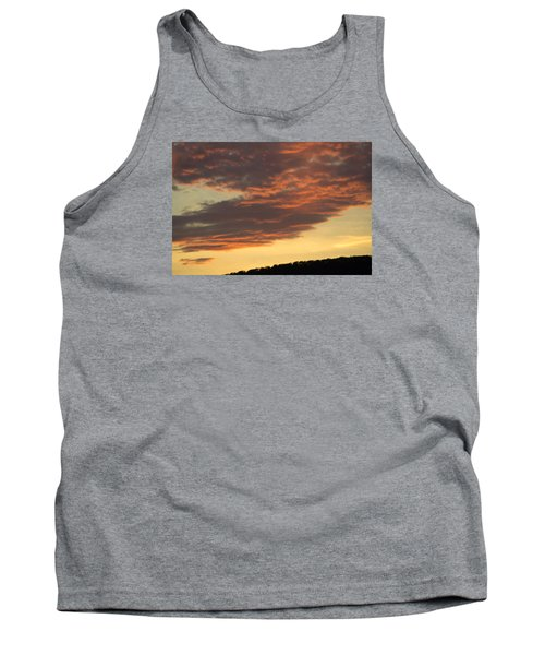 Sunset On Hunton Lane #7 Tank Top by Carlee Ojeda