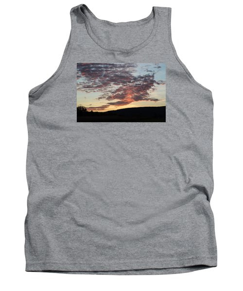 Sunset On Hunton Lane #9 Tank Top by Carlee Ojeda