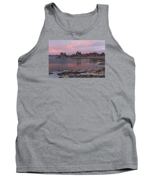 Sunset On Mono Lake Tank Top