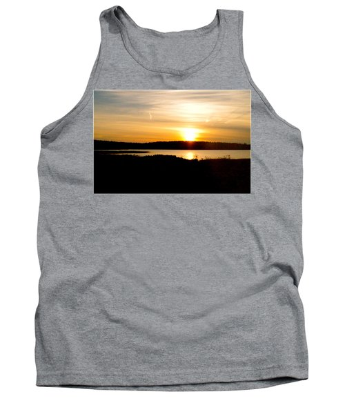 Sunset On Morrison Beach Tank Top by Jason Lees