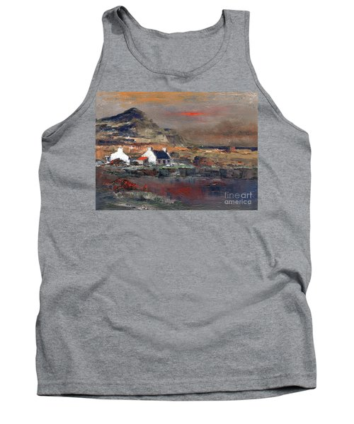 Sunset On Mount Errigal, Dunegal Tank Top