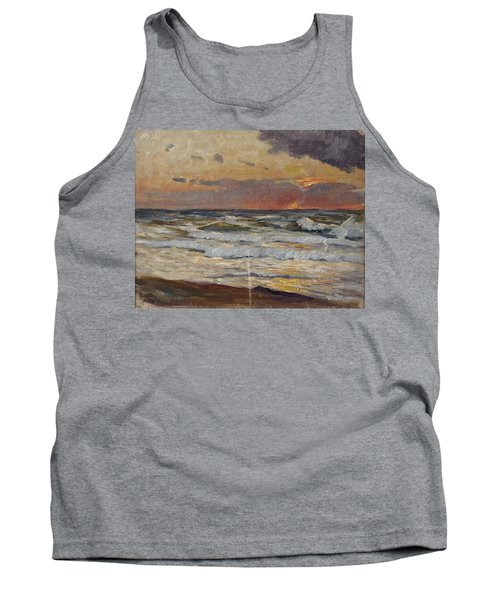 Sunset On The Baltic Sea Tank Top