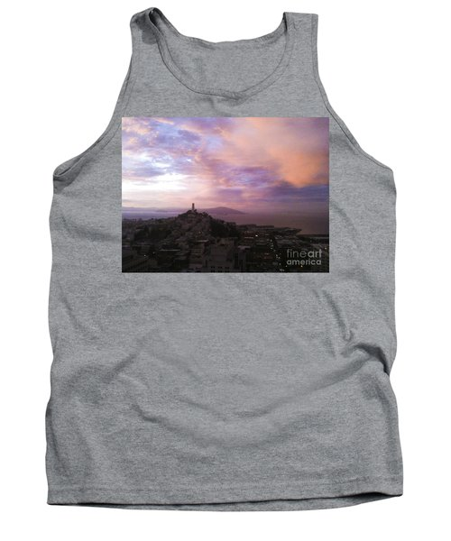 Sunset On The Bay Tank Top