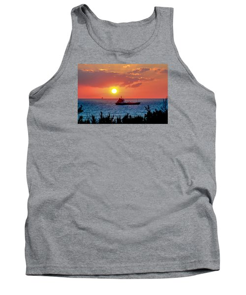 Sunset On The Horizon Tank Top