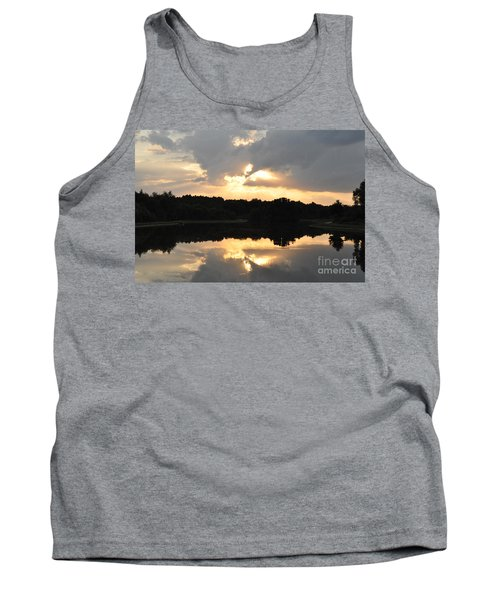 Tank Top featuring the photograph Sunset On The Lakefront by John Black