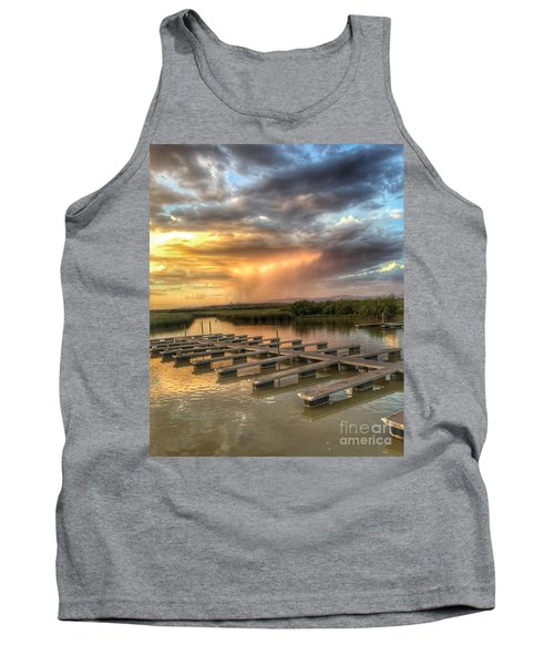 Sunset On The Marsh Tank Top