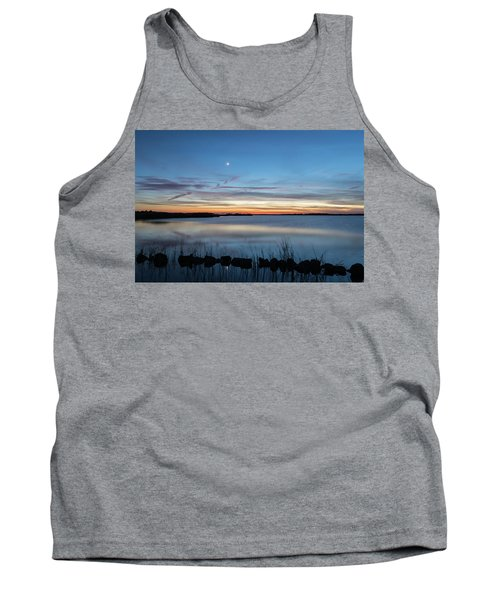 Sunset Over Back Bay Tank Top
