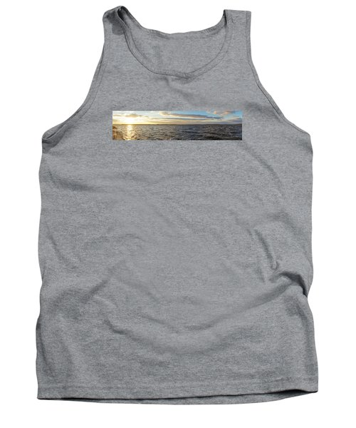 Sunset Over Cape Fear River Tank Top
