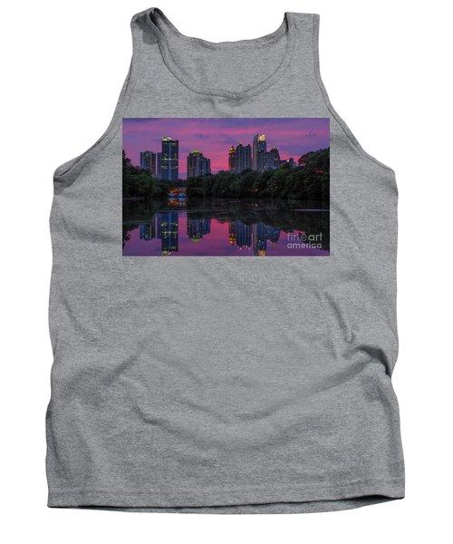 Sunset Over Midtown Tank Top