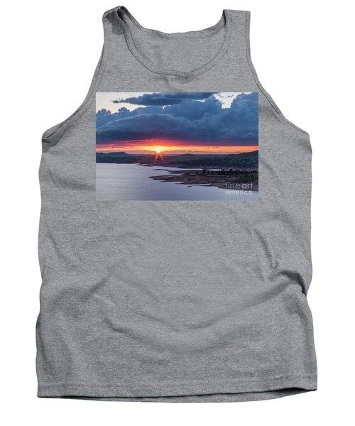 Sunset Over Millerton Lake  Tank Top