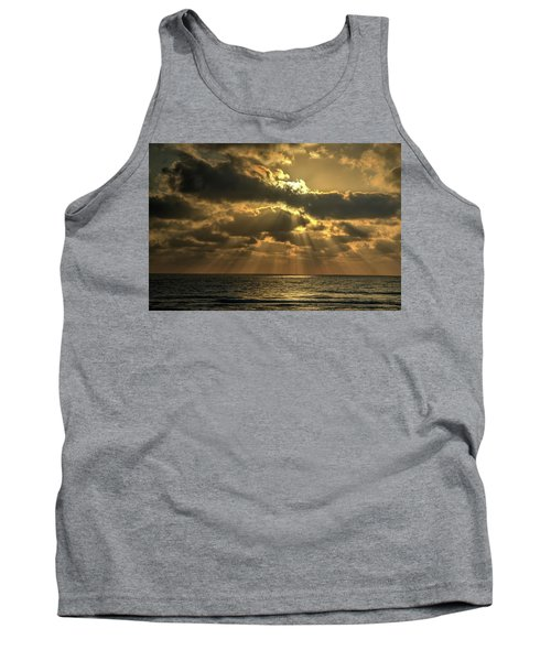 Sunset Over The Mediterranean 5 Tank Top